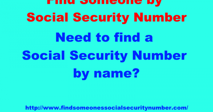 SSN Lookup Is Quick And Can Be Taken Care Of Online
